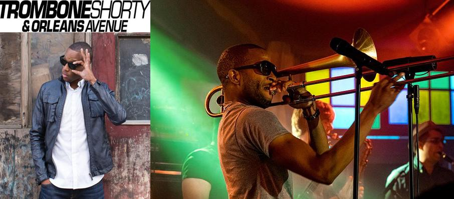 Trombone Shorty And Orleans Avenue at Lexington Opera House
