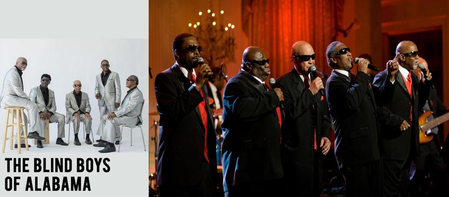 The Blind Boys Of Alabama at Singletary Center for the Arts