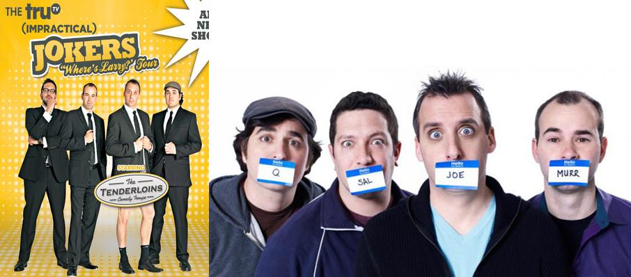 Cast Of Impractical Jokers & The Tenderloins at Rupp Arena