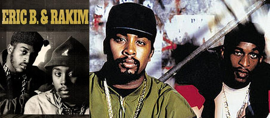 Eric B and Rakim at Manchester Music Hall