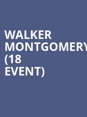 Walker Montgomery (18+ Event) at Manchester Music Hall