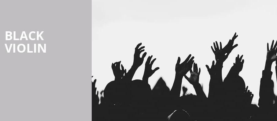Black Violin, Lexington Opera House, Lexington